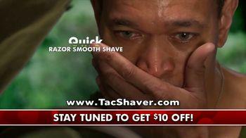Bell + Howell Tac Shaver TV Spot, 'Double Offer: $10 Off' - Thumbnail 6