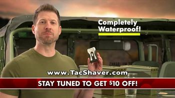 Bell + Howell Tac Shaver TV Spot, 'Double Offer: $10 Off' - 2085 commercial airings