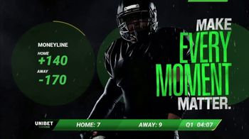 Unibet TV Spot, \'Make Every Moment Matter: $250\'