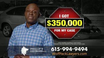 Phillip S. Georges, PLLC TV Spot, 'Stop: Settlement'