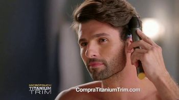 MicroTouch Titanium Trim TV Spot, 'Retoques precisos' [Spanish]