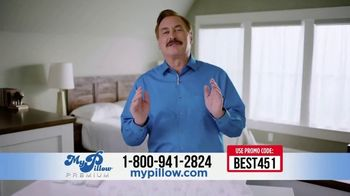 My Pillow Premium TV Spot, 'Not Sleeping Well: Mike's Best Offer'