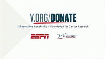The V Foundation for Cancer Research TV Spot, 'ESPN: V Week'
