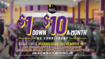 Planet Fitness TV Spot, 'Get Moving: $1 Down $10 a Month' - Thumbnail 5