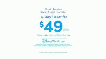 Disney World TV Spot, 'Discover Holiday Magic: $49 Ticket' - Thumbnail 9