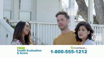 CreditRepair.com TV Spot, 'Live Action: Free Evaluation and Score' - Thumbnail 2