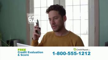 CreditRepair.com TV Spot, 'Live Action: Free Evaluation and Score' - Thumbnail 4