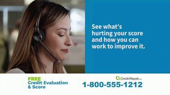 CreditRepair.com TV Spot, 'Live Action: Free Evaluation and Score' - Thumbnail 5