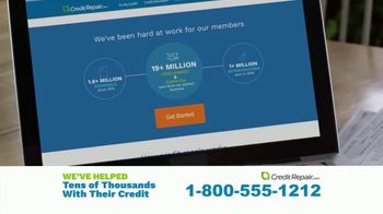 CreditRepair.com TV Spot, 'Live Action: Free Evaluation and Score' - Thumbnail 6