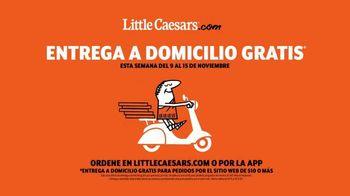 Little Caesars Pizza TV Spot, 'Piano: entrega gratis' [Spanish] - Thumbnail 7
