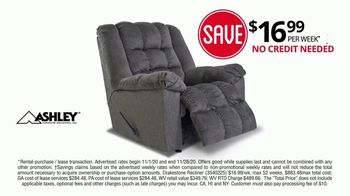 Rent-A-Center Black Friday Savings TV Spot, Ashley Bedroom, Recliner and Living Room Bundle' - Thumbnail 7