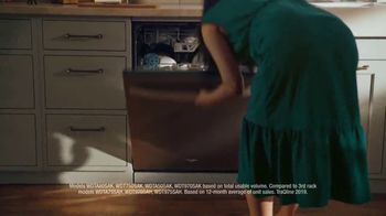 Whirlpool TV Spot, 'Holidays: Largest Capacity Third Rack' - Thumbnail 10