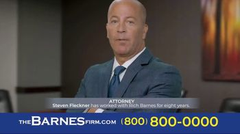 The Barnes Firm TV Spot, 'I Chose the Barnes Firm: Steven'