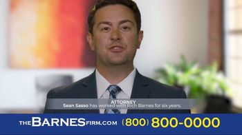 The Barnes Firm TV Spot, 'I Chose the Barnes Firm: Sean' - Thumbnail 2