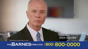 The Barnes Firm TV Spot, 'I Chose the Barnes Firm: Sean' - Thumbnail 5
