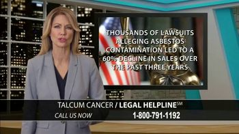Onder Law Firm TV Spot, 'Talcum Cancer' - Thumbnail 4