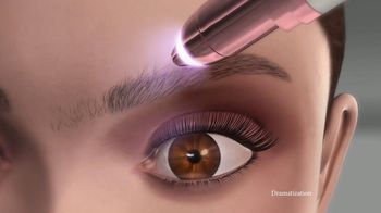 Flawless Brows TV Spot, 'Sweeps the Hair Away' - Thumbnail 8