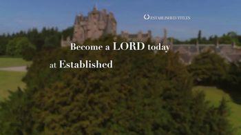 Established Titles TV Spot, 'Holidays: Make Them a Lord Today' - Thumbnail 9
