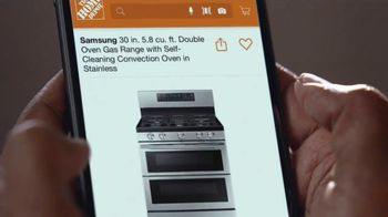 The Home Depot Black Friday Prices TV Spot, 'Holiday Help: Samsung Laundry Pairs for $598' - Thumbnail 4