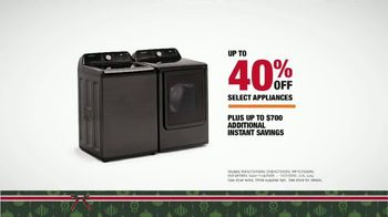 The Home Depot Black Friday Prices TV Spot, 'Holiday Help: Samsung Laundry Pairs for $598' - Thumbnail 7