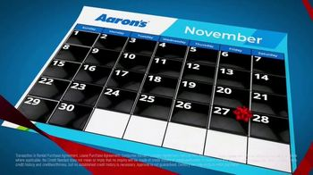 Aaron's TV Spot, 'Black Friday All Month Long'