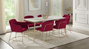 Rooms to Go Holiday Sale TV Spot, 'Modern Five Piece Dining Set: $699' - Thumbnail 3