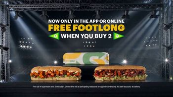 Subway TV Spot, 'Picked Off' Featuring Deion Sanders - Thumbnail 6