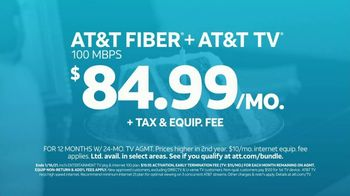AT&T TV Spot, 'Special Lady: Fiber + TV for $84.99 per Month' - Thumbnail 7