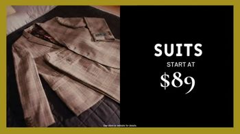 Men's Wearhouse Early Bird Black Friday Sale TV Spot, 'Shirts, Pants and Suits' - Thumbnail 5
