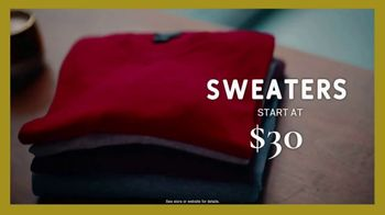 Men's Wearhouse Early Bird Black Friday Sale TV Spot, 'Shirts, Pants and Suits' - Thumbnail 6
