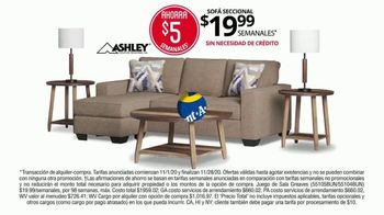 Rent-A-Center Venta de Pre-Black Friday TV Spot, 'Ashley cama y sillón reclinable y sofá' [Spanish] - Thumbnail 5