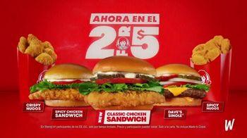 Wendy's Classic Chicken Sandwich TV Spot, '¡Reescribiendo la historia!' [Spanish] - Thumbnail 6