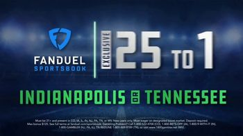FanDuel TV Spot, 'Thursday Night Showdown: Indianapolis vs. Tennessee' - Thumbnail 10