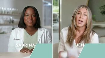 Aveeno Calm + Restore Oat Gel Moisturizer TV Spot, 'Chat With Sabrina' Featuring Jennifer Aniston - Thumbnail 1