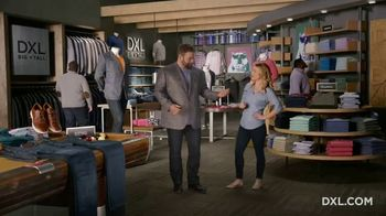 DXL Big + Tall TV Spot, 'Built to Fit. Built XL.' - Thumbnail 5