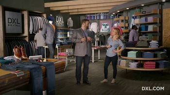 DXL Big + Tall TV Spot, 'Built to Fit. Built XL.'