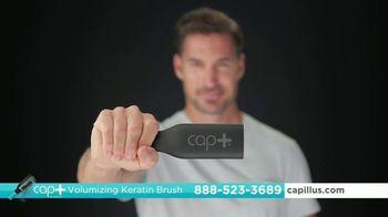 Capillus Cap+ Volumizing Keratin Brush TV Spot, 'Hide Thinning Hair' - Thumbnail 2