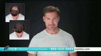 Capillus Cap+ Volumizing Keratin Brush TV Spot, 'Hide Thinning Hair' - Thumbnail 3