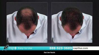 Capillus Cap+ Volumizing Keratin Brush TV Spot, 'Hide Thinning Hair' - Thumbnail 6