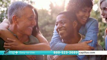Capillus Cap+ Volumizing Keratin Brush TV Spot, 'Hide Thinning Hair'
