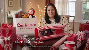 Burlington TV Spot, 'Cristina sabe' [Spanish]