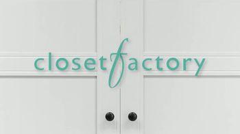 Closet Factory TV Spot, 'Trusted Advisors' - Thumbnail 1