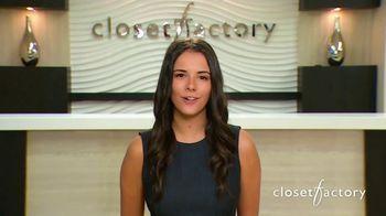 Closet Factory TV Spot, 'Trusted Advisors' - Thumbnail 2