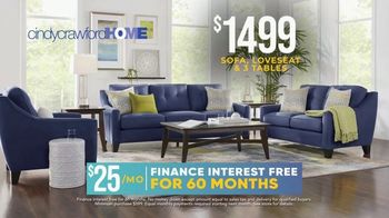Rooms to Go Holiday Sale TV Spot, 'Cindy Crawford Home Eye-Catching Living Room Set: $1,499' - Thumbnail 5
