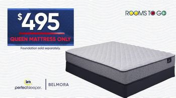 Rooms to Go Holiday Sale TV Spot, '$495 Queen Mattress' - Thumbnail 4