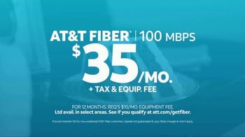 AT&T Fiber TV Spot, 'Special Lady: 100 Mbps for $35 per Month' - Thumbnail 8