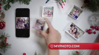 MyPhoto TV Spot, 'Holiday Gifts: Acrylic Blocks: 20% Off First Order' - Thumbnail 3