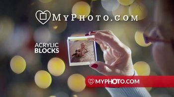 MyPhoto TV Spot, 'Holiday Gifts: Acrylic Blocks: 20% Off First Order'