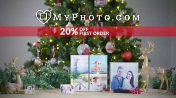 MyPhoto TV Spot, 'Holiday Gifts: Acrylic Blocks: 20% Off First Order' - Thumbnail 8