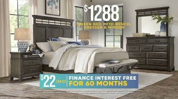 Rooms to Go Holiday Sale TV Spot, 'Five Piece Bedroom Sets: $1,288' - Thumbnail 5